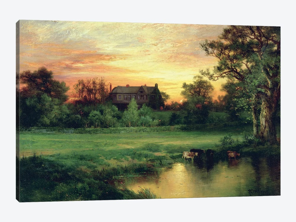 Easthampton, Long Island, 1897  by Thomas Moran 1-piece Canvas Art