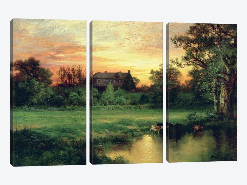 Easthampton, Long Island, 1897  by Thomas Moran 3-piece Canvas Artwork