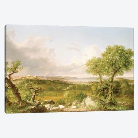 View of Boston  Canvas Print #BMN4781} by Thomas Cole Canvas Art Print
