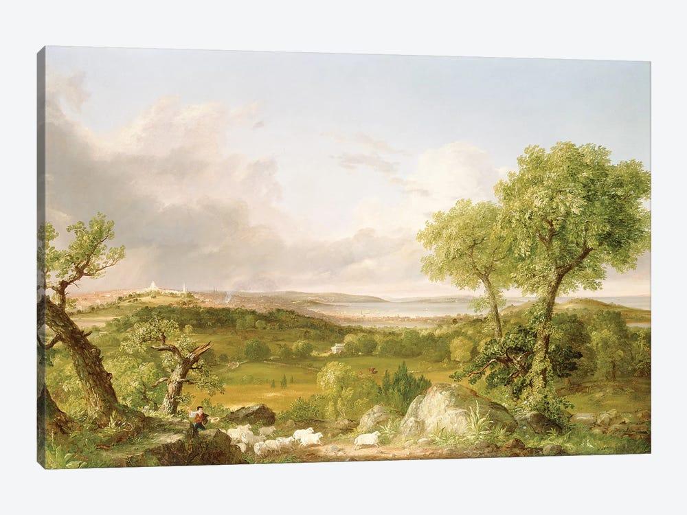 View of Boston  by Thomas Cole 1-piece Art Print
