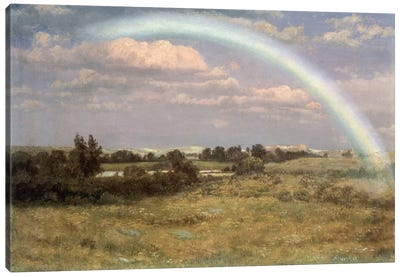 After the Storm by Albert Bierstadt Canvas Print