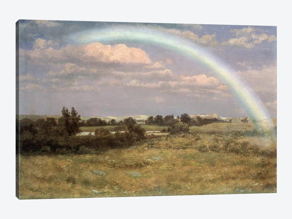 After the Storm  by Albert Bierstadt 1-piece Canvas Art