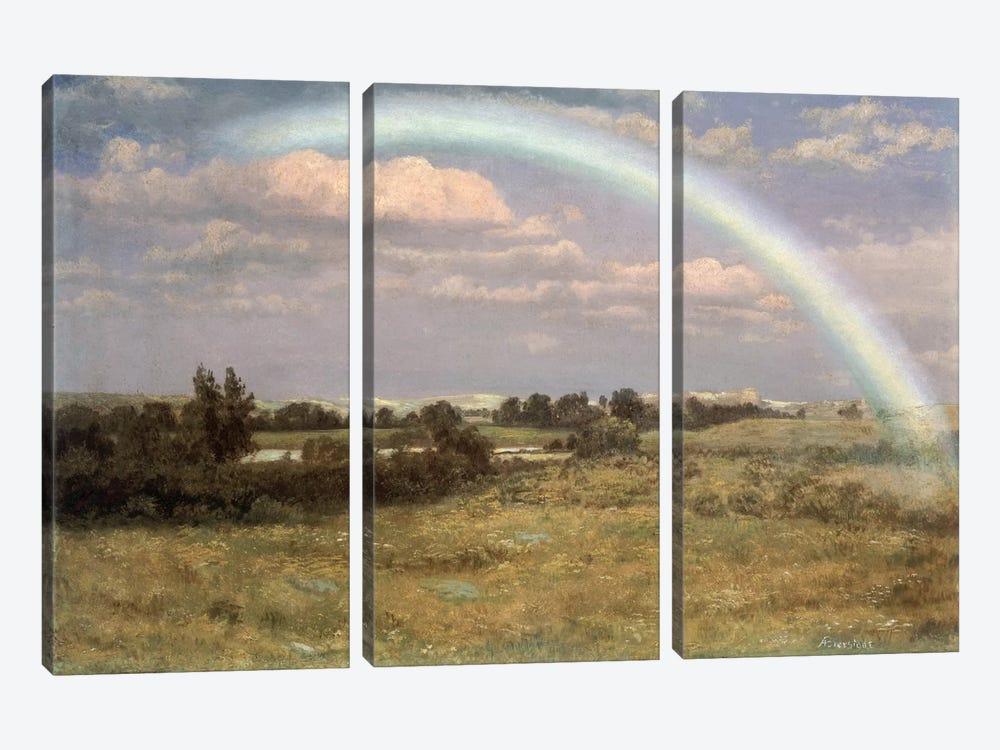 After the Storm  by Albert Bierstadt 3-piece Canvas Wall Art