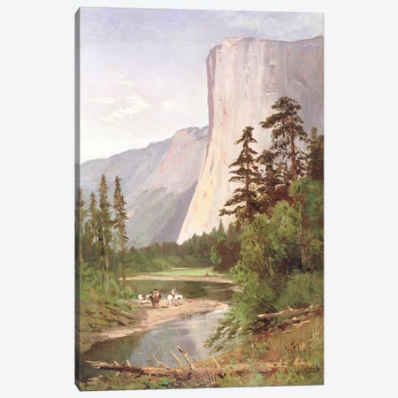 El Capitan, Yosemite Valley  Canvas Print #BMN4783} by William Keith Canvas Art Print