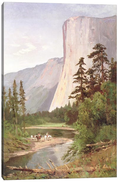 El Capitan, Yosemite Valley Canvas Art Print
