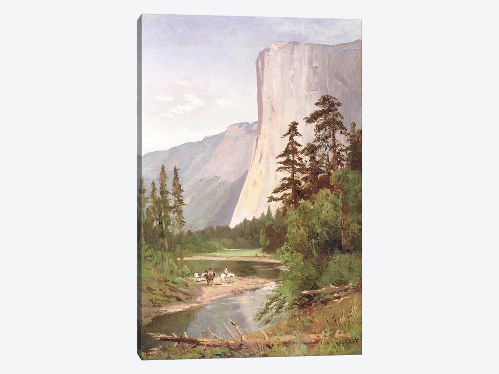 El Capitan, Yosemite Valley  by William Keith 1-piece Canvas Print