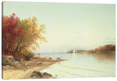 Narragansett Bay, Autumn, Rhode Island  Canvas Art Print