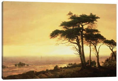 California Coast by Albert Bierstadt Canvas Art