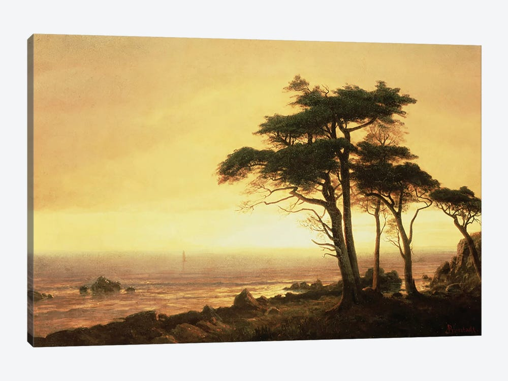 California Coast  by Albert Bierstadt 1-piece Art Print