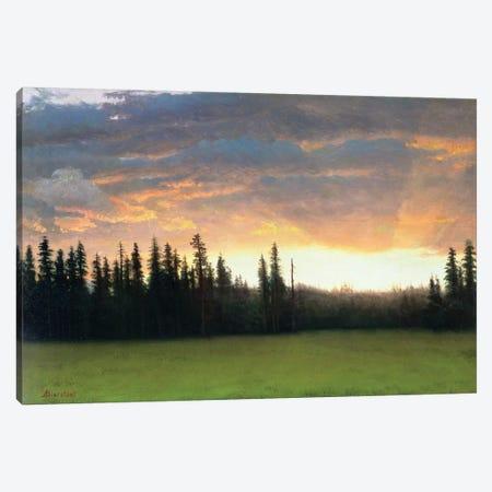 California Sunset  Canvas Print #BMN4793} by Albert Bierstadt Canvas Wall Art
