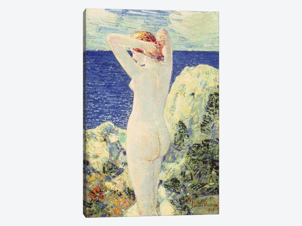 The Bather, 1915 by Childe Hassam 1-piece Art Print