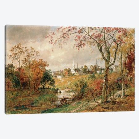 Autumn Landscape, Saugerties, 1886  Canvas Print #BMN4795} by Jasper Francis Cropsey Canvas Print