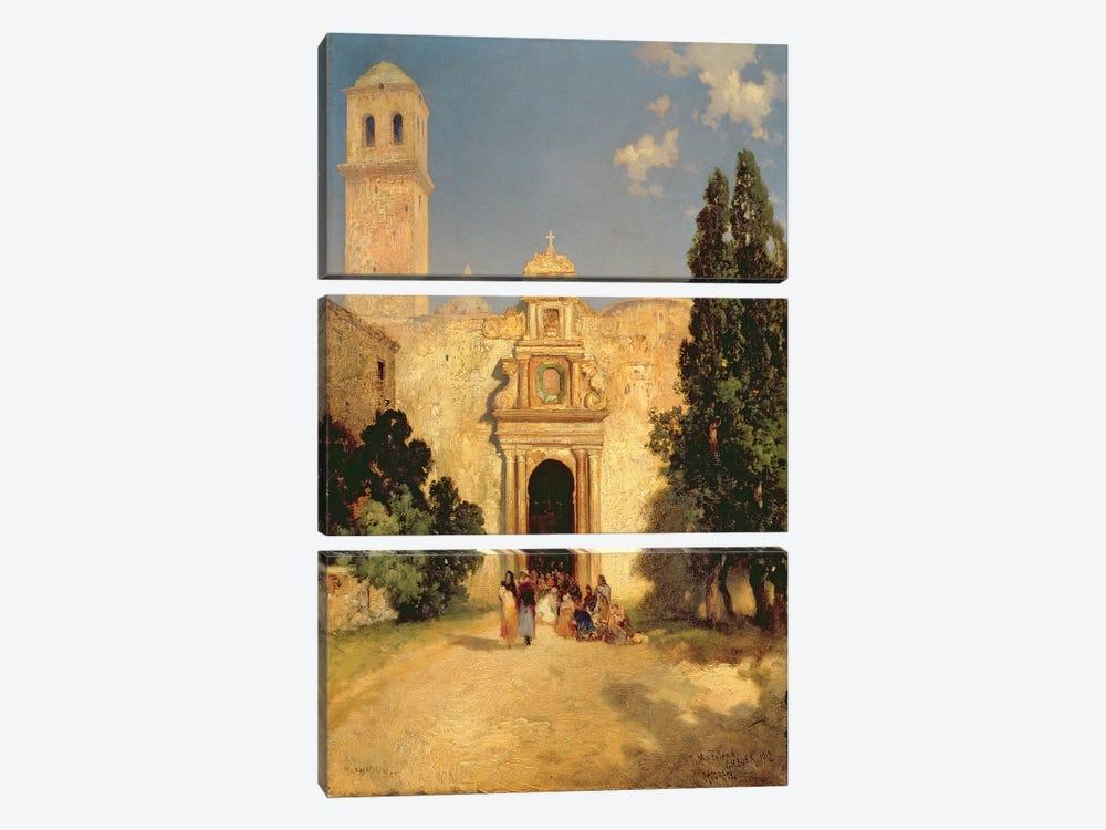Maravatio, Mexico, 1912 by Thomas Moran 3-piece Canvas Print