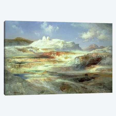 Jupiter Terrace, Yellowstone, 1893  Canvas Print #BMN4797} by Thomas Moran Art Print