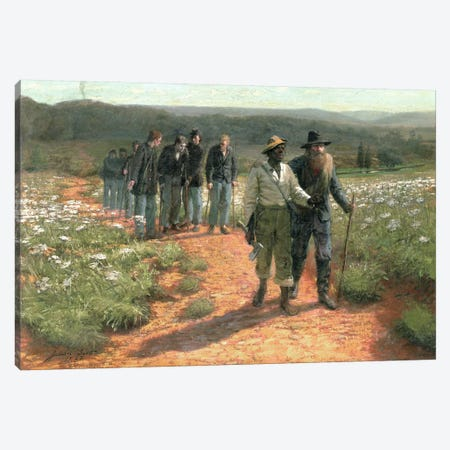 Going Home, 1887  Canvas Print #BMN4799} by Julian Scott Canvas Art