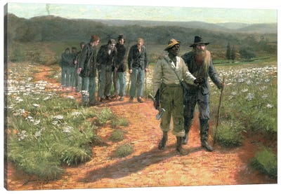 Going Home, 1887 Canvas Art Print