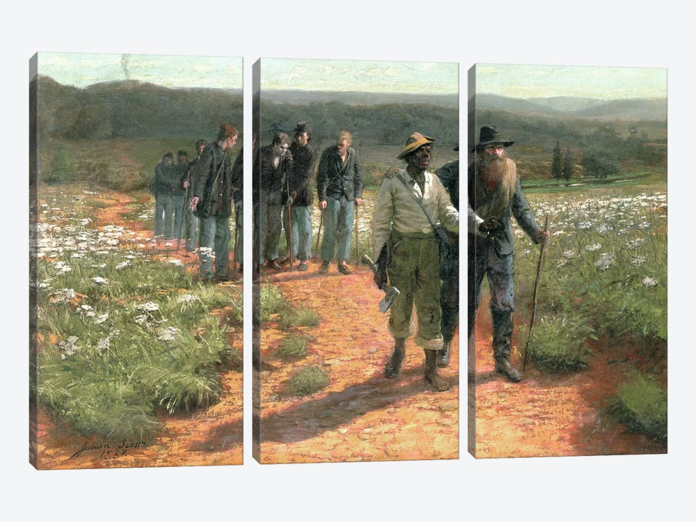 Going Home, 1887  3-piece Canvas Artwork