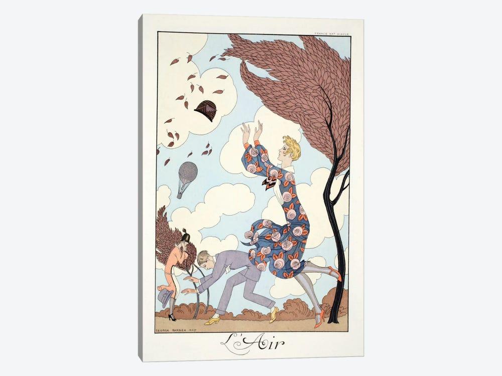Air, from 'Falbalas & Fanfreluches, Almanach des Modes Présentes by George Barbier 1-piece Art Print