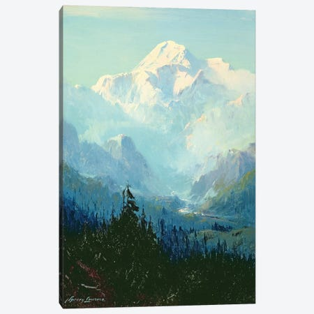 Mount McKinley  Canvas Print #BMN4801} by Sidney Laurence Canvas Wall Art