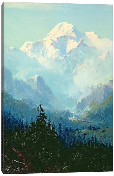 Mount McKinley  Canvas Art Print