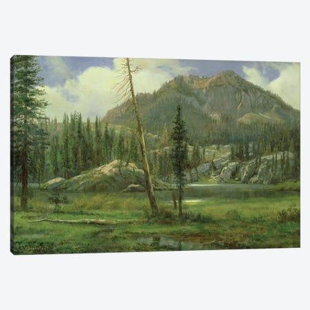 Sierra Nevada Mountains  Canvas Print #BMN4803} by Albert Bierstadt Canvas Wall Art