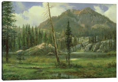 Sierra Nevada Mountains  Canvas Art Print
