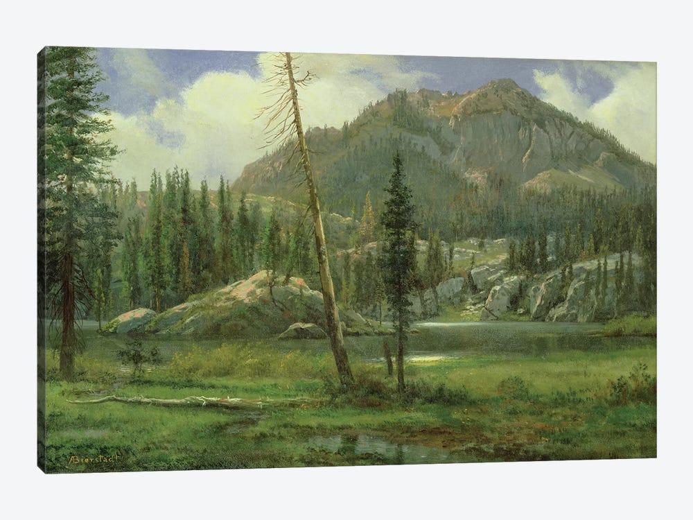 Sierra Nevada Mountains  by Albert Bierstadt 1-piece Canvas Print