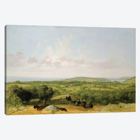 View of Narragansett Bay, Near Warwick, Rhode Island  Canvas Print #BMN4804} by David Johnson Art Print
