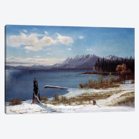 Lake Tahoe  Canvas Print #BMN4806} by Albert Bierstadt Canvas Art Print