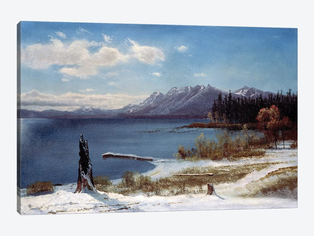 Lake Tahoe  by Albert Bierstadt 1-piece Canvas Wall Art