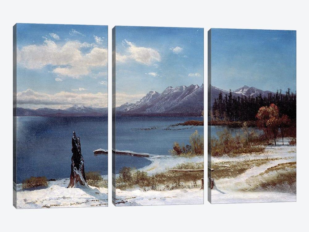 Lake Tahoe  by Albert Bierstadt 3-piece Canvas Artwork
