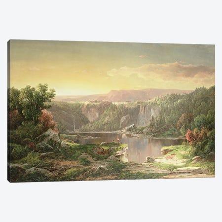 Mountain Lake near Piedmont, Maryland  Canvas Print #BMN4810} by William Sonntag Canvas Print