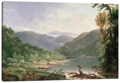 Kentucky River, Near Dic River  Canvas Art Print