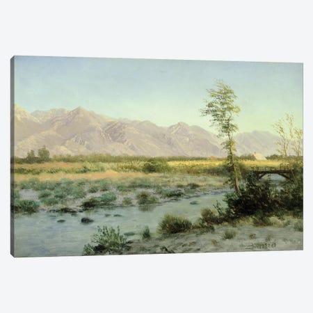 Prairie Landscape  Canvas Print #BMN4814} by Albert Bierstadt Canvas Art