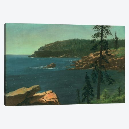 California Coast  Canvas Print #BMN4815} by Albert Bierstadt Canvas Wall Art