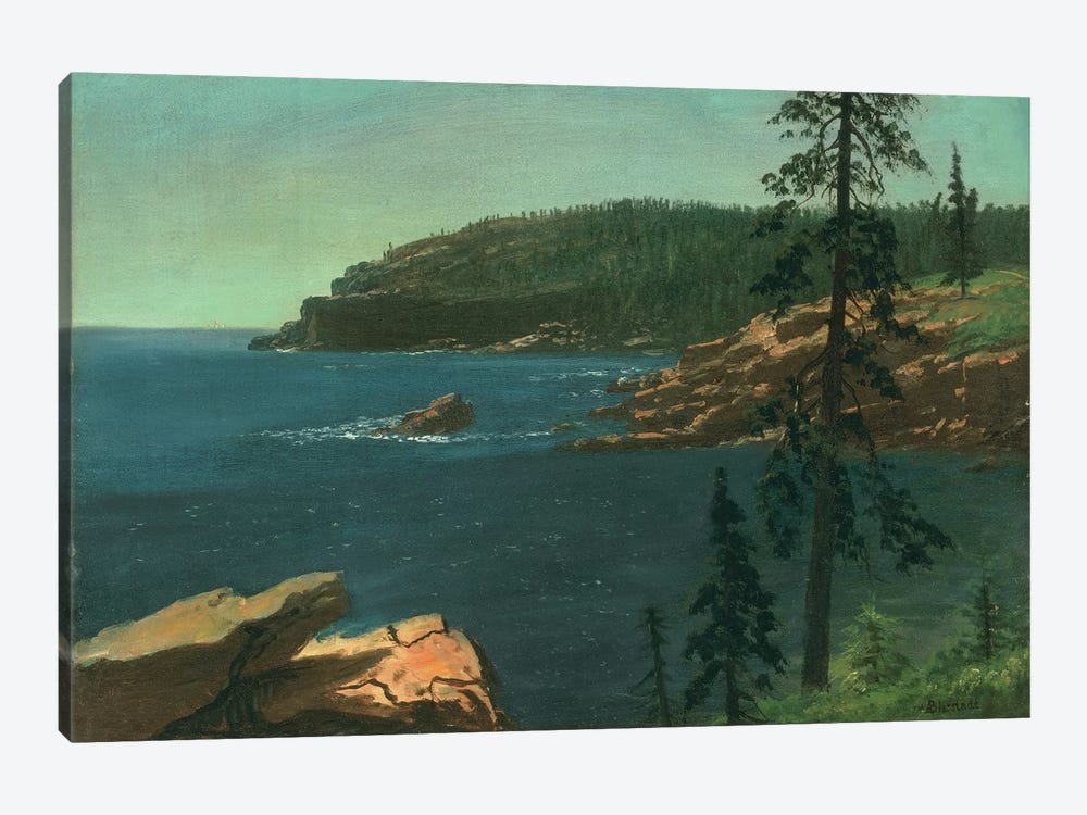 California Coast  by Albert Bierstadt 1-piece Canvas Artwork