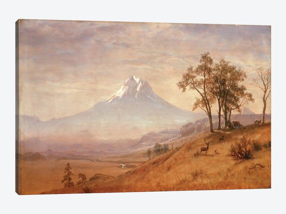 Mount Hood, 1863  by Albert Bierstadt 1-piece Canvas Wall Art