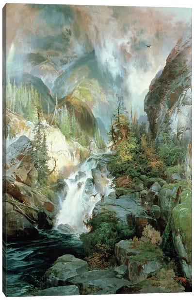 Children of the Mountain, 1866  Canvas Art Print