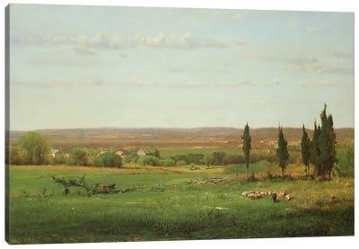 Near Eagleswood, 1869  Canvas Art Print