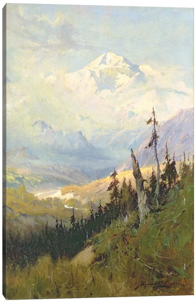 An Autumn Day, Mt. McKinley Canvas Art Print