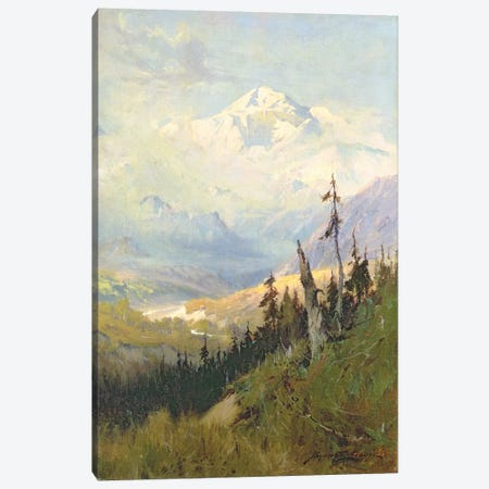 An Autumn Day, Mt. McKinley  3-Piece Canvas #BMN4828} by Sidney Laurence Canvas Wall Art