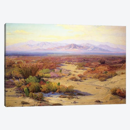 The Great Silence  Canvas Print #BMN4829} by Fred Grayson Sayre Canvas Art