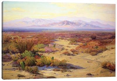 The Great Silence  Canvas Art Print