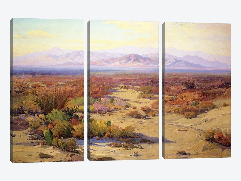The Great Silence  by Fred Grayson Sayre 3-piece Art Print