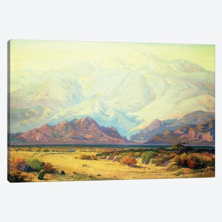 The Majestic Desert  Canvas Print #BMN4830} by Fred Grayson Sayre Canvas Art Print
