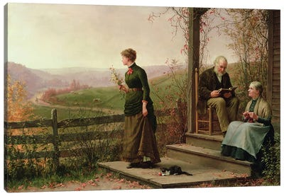 Love's Young Dream, 1887  Canvas Art Print