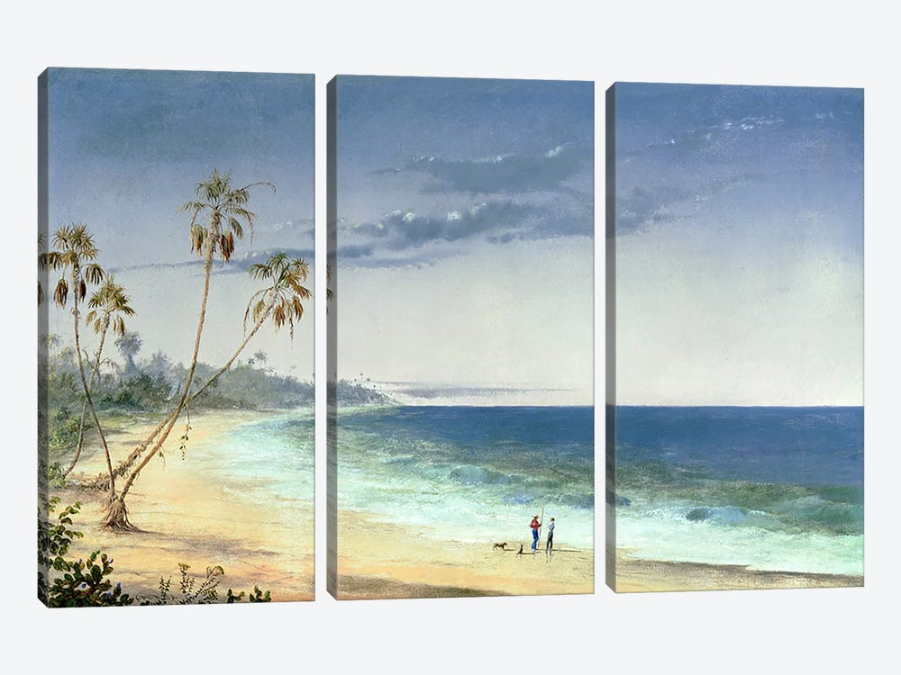 Cuban Landscape, 1866  by Charles de Wolfe Brownell 3-piece Canvas Artwork