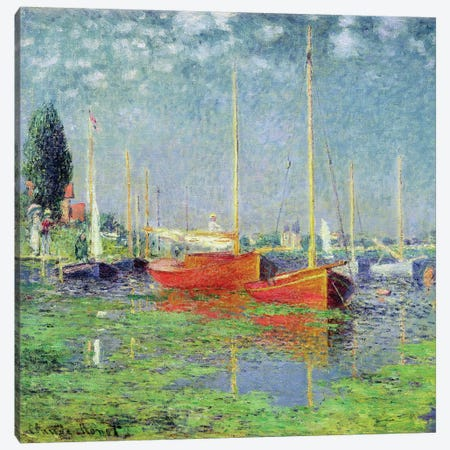 Argenteuil, c.1872-5   Canvas Print #BMN486} by Claude Monet Art Print