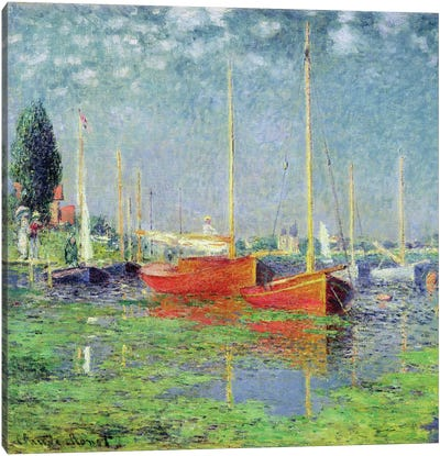 Argenteuil, c.1872-5   Canvas Art Print