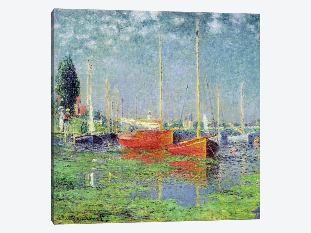 Argenteuil, c.1872-5 by Claude Monet 1-piece Canvas Wall Art